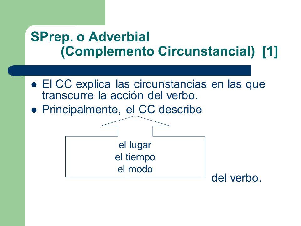SPrep. o Adverbial (Complemento Circunstancial) [1]